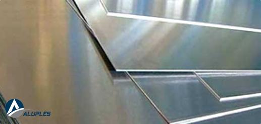 Chapa de aluminio lisa de varios esperores