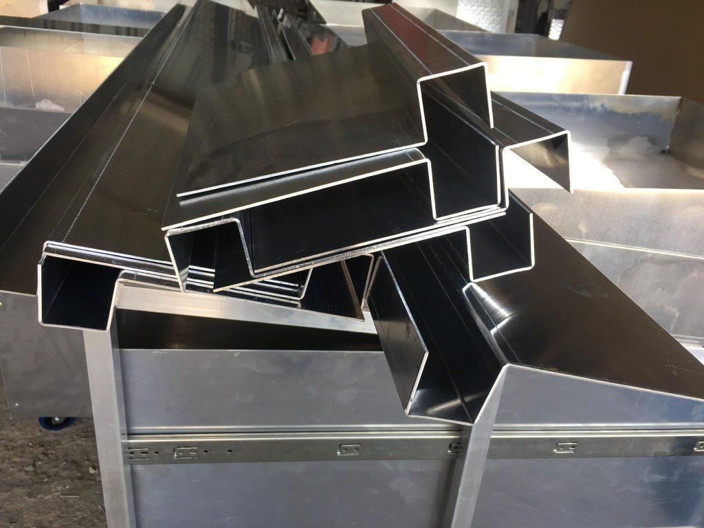 perfiles chapa de aluminio